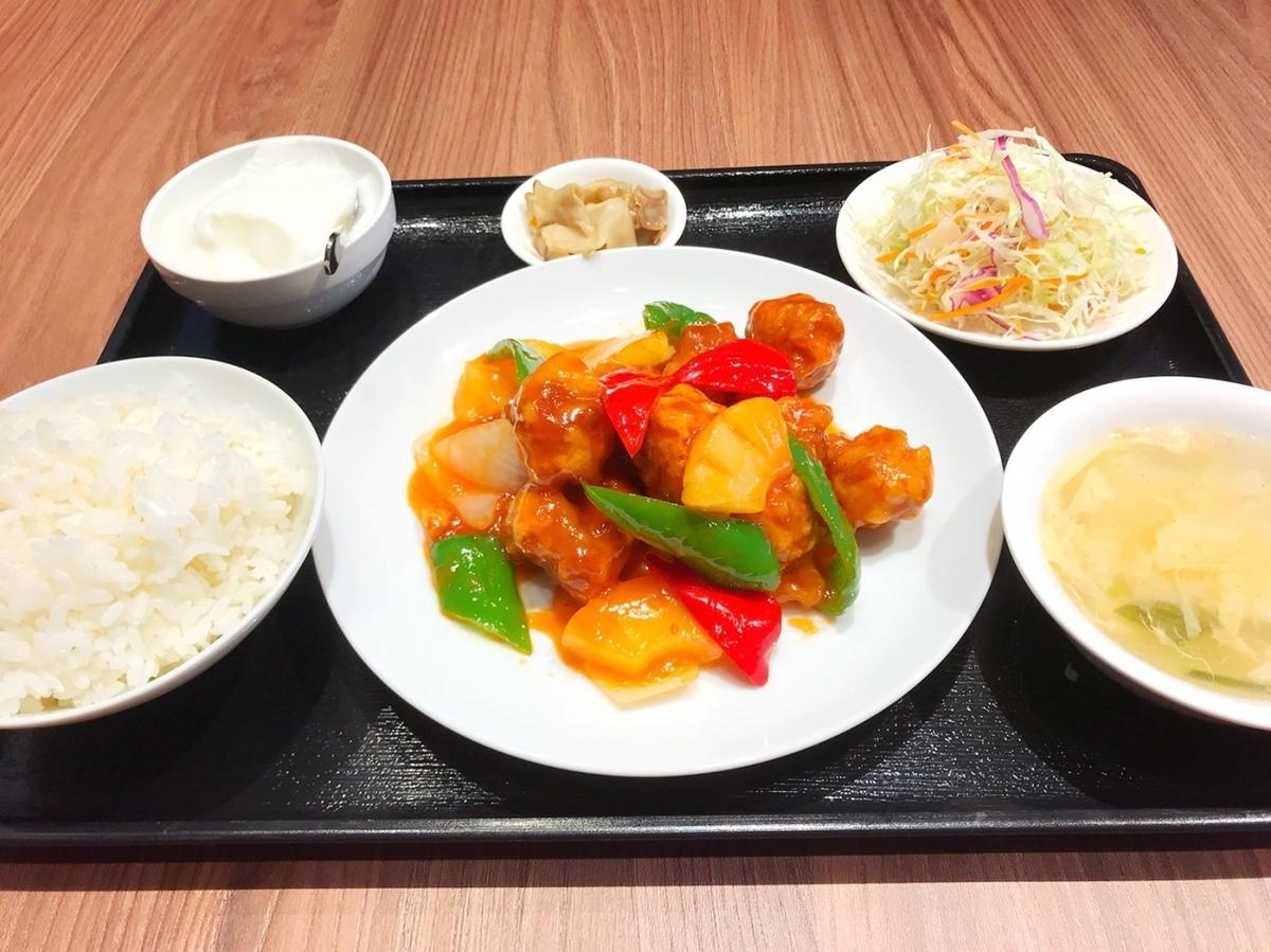■菠萝套餐的糖醋猪肉