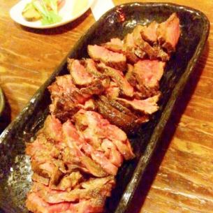 Selling sirloin steak meat selling.