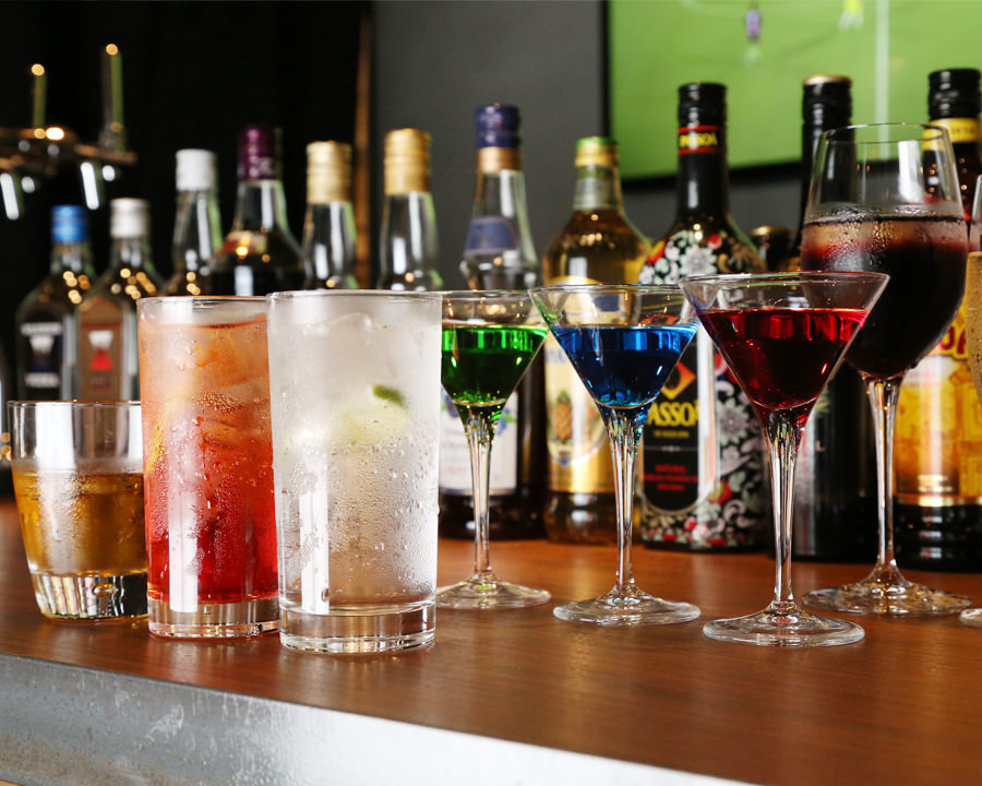 More than 100 kinds of drink menu