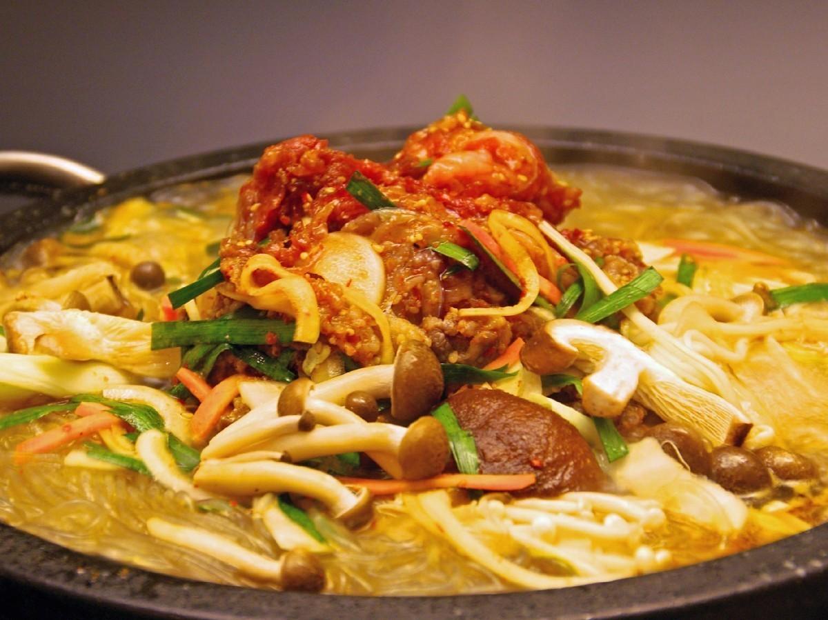Want to eat meat! Bulgogi Wagyu Beef Pot (1 serving)