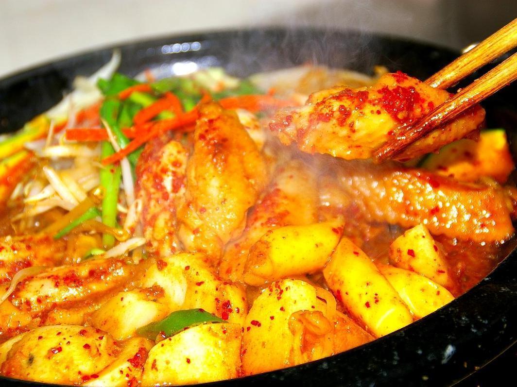 タッカルビ地鶏鍋(1人前)