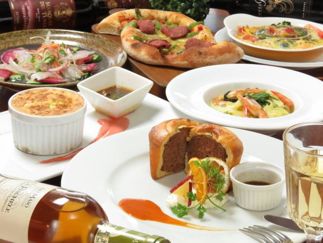 1/3 ~ 180 minutes eating and drinking as much as possible ★ Sun - Three thousand yen / Kimira celebrations before 3500 yen