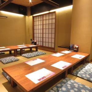 宇久島【1階:最大16名様】テーブルレイアウトの変更が可能なので、8名様~16名様での宴会や会食にどうぞ