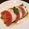 トマトのカプレーゼサラダ