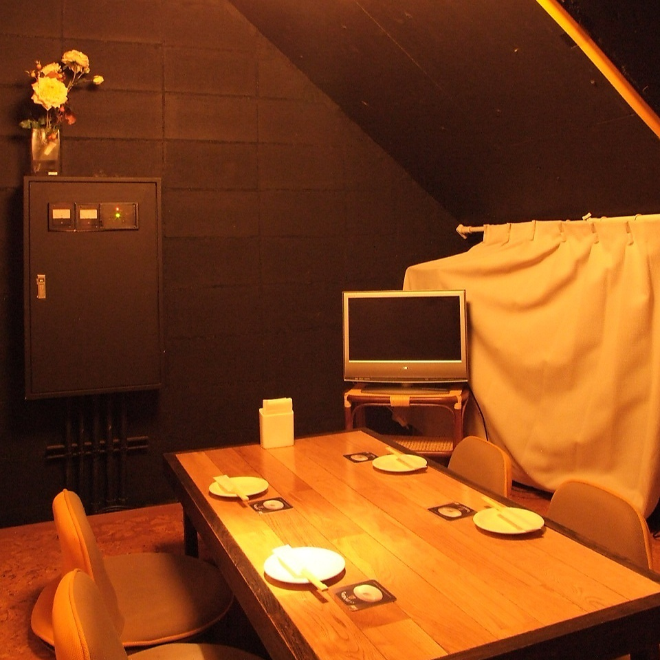This room in a fully private room is not well known! In order to enjoy slow time with a small number of people, this room is perfect! Because it is limited to one pair per day, please make a reservation as soon as possible.