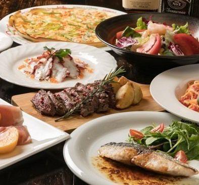 【被推荐为被遗忘的年会♪4000日元套餐可供您尽情享用】