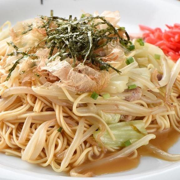 Hakata specialty grilled ramen