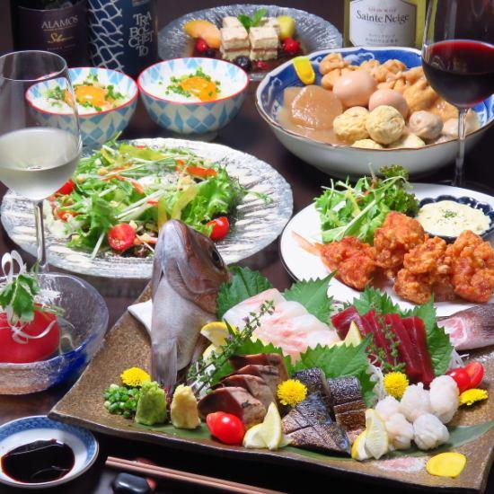 ◆飯田橋駅から徒歩4分 ◆歓送迎会利用も大歓迎 ◆自慢の料理をお楽しみください♪