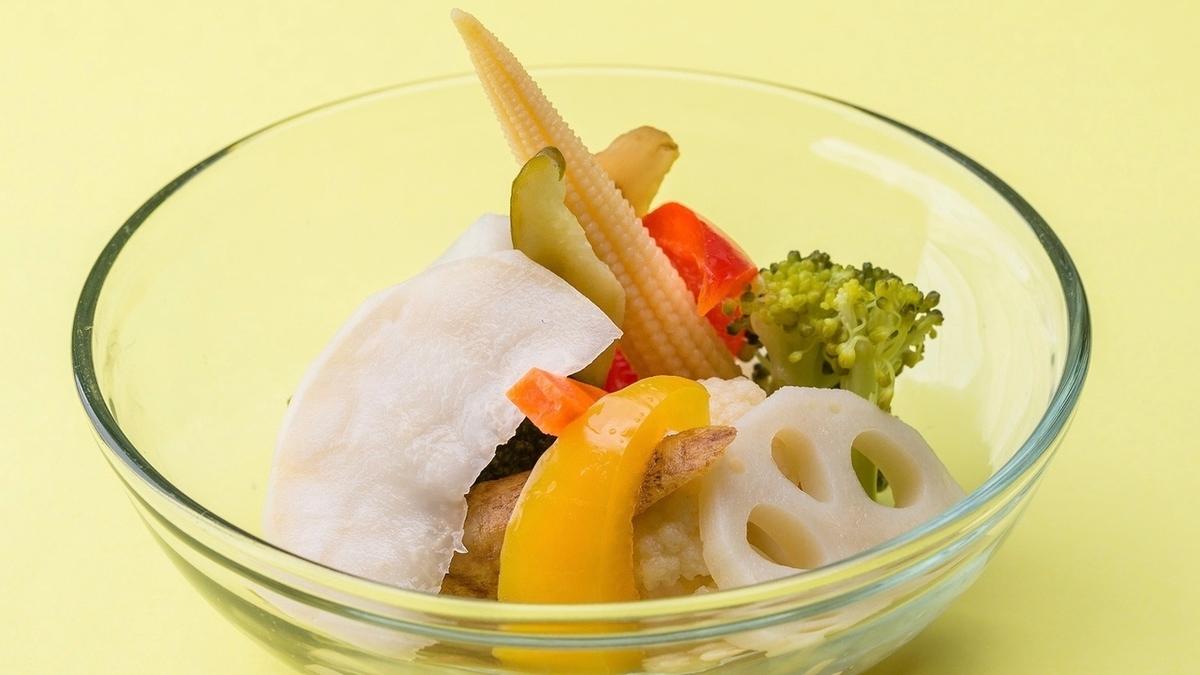 自家製!! 彩り野菜のピクルス