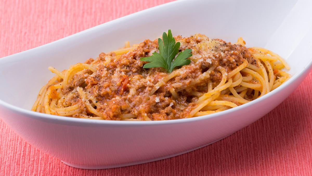 ボローニャ風ミートソース スパゲッティ