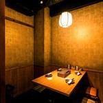 """▼是一个受欢迎的龙perfect的完美包间座位!适用于3至4人▼享受美食而不担心周围环境的乐趣,因此您可以将其用于娱乐♪完美的女孩社会▼想要在新桥的酒吧渡过休闲时光,请尽量使用私人房间""""Ryu chan""""!"""