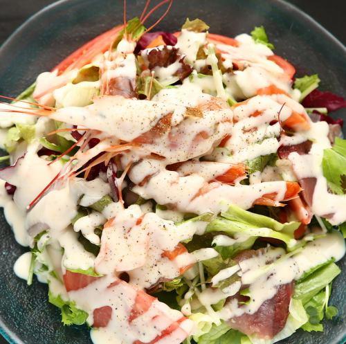 海の幸 海鮮彩サラダ