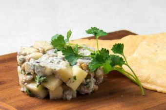 블루 치즈와 호두 타르타르
