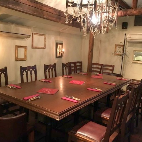 """Among aristocrats"" Complete private room for 8 to 14 people."