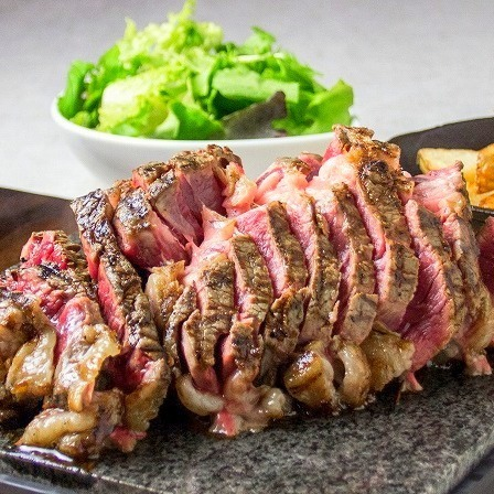 Sakure Fleur的肉類推薦超過300克◎