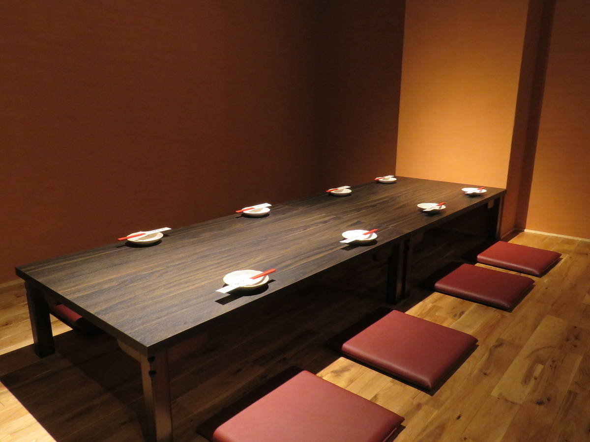 Japanese banquet in modern space Japanese