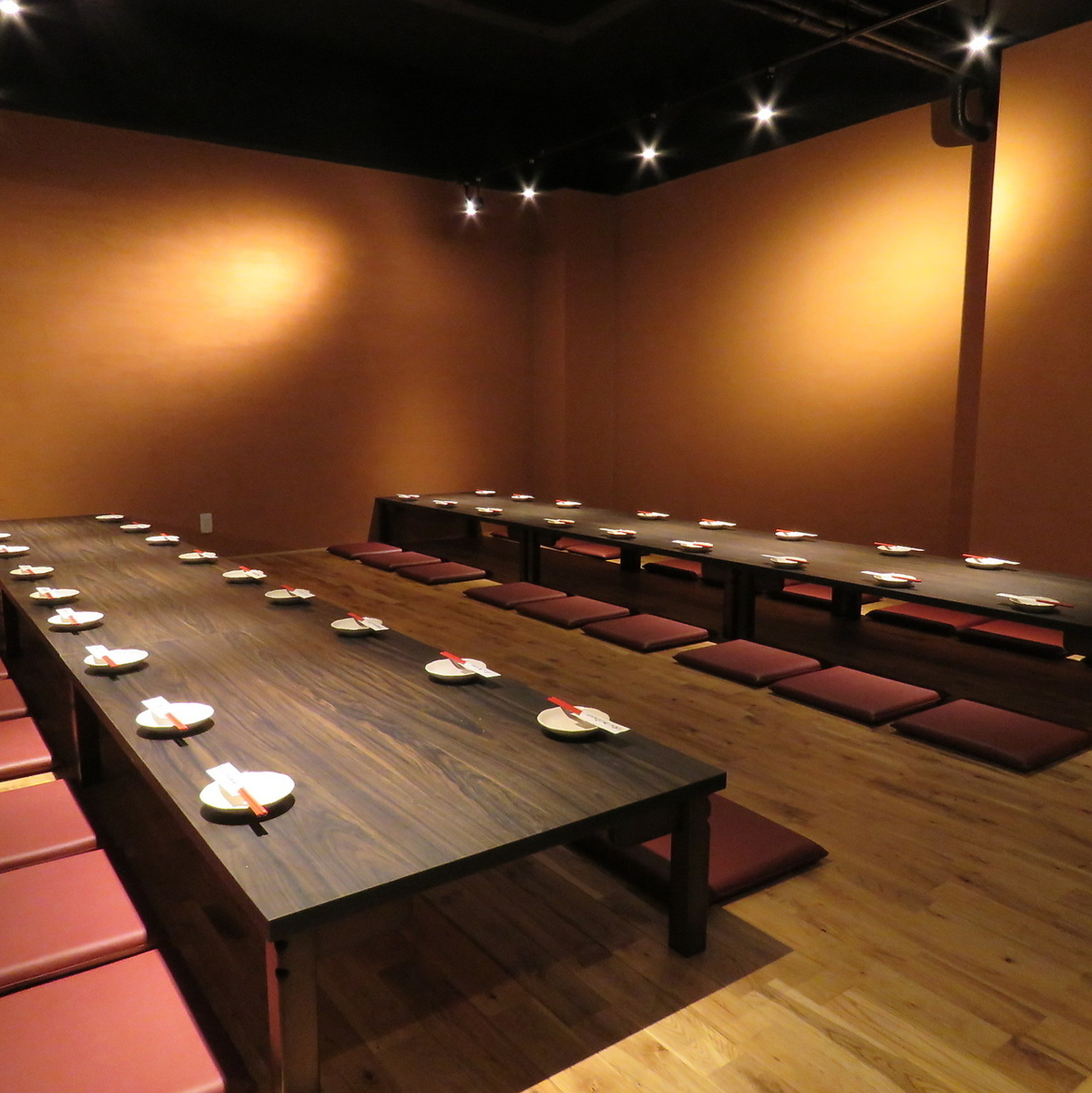 It is recommended for large banquet.Can accommodate up to 70 people ♪