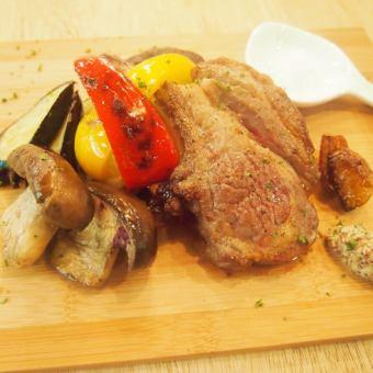 Itoshima pork loin grill