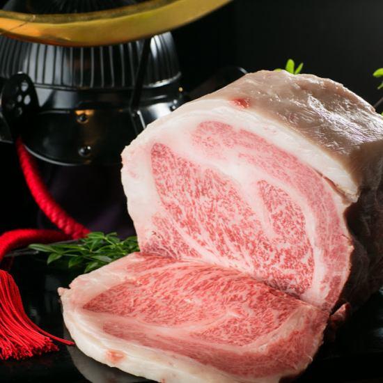 仙台牛をふんだんに使用したコースは10000円(税込)!!詳細は→
