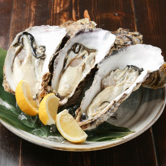 «Oyster Exhaust Full Course» 3,980 yen
