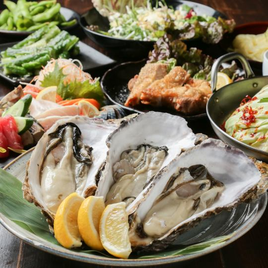 «Dream Oyster Course» 5,000 yen