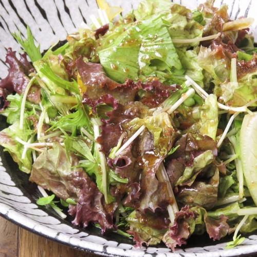 シンプルな野菜サラダ