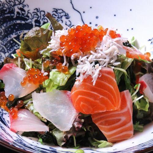 はぜるの海鮮サラダ