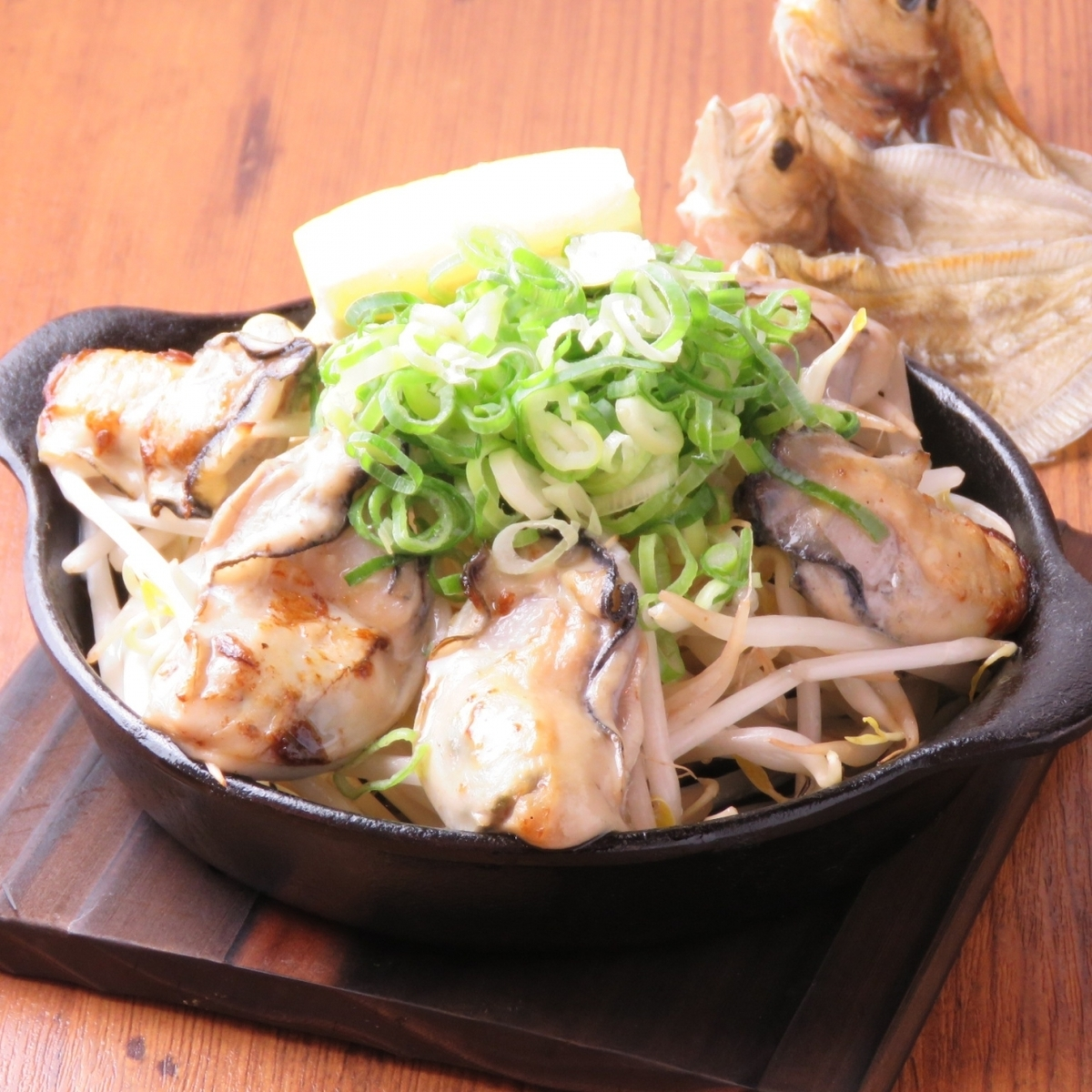 "Use Onomichi ingredients! ""Hiroshima kaki no Teppanyaki"" From 800 yen!"