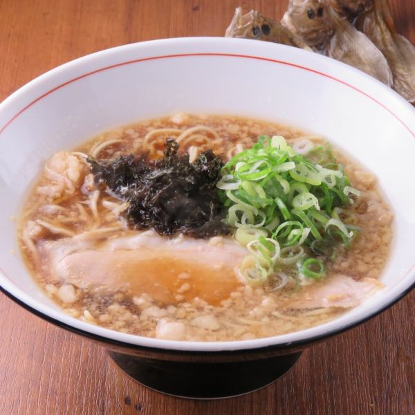 "【Original】 !! Authentic Chinese noodles with soy sauce and fish base! Please relish ""Onomichi Ramen""! (650 yen)"
