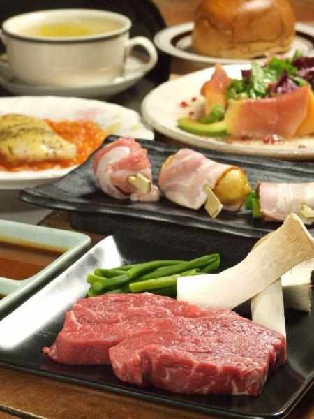Steak or Shabu-shabu ♪ Various courses
