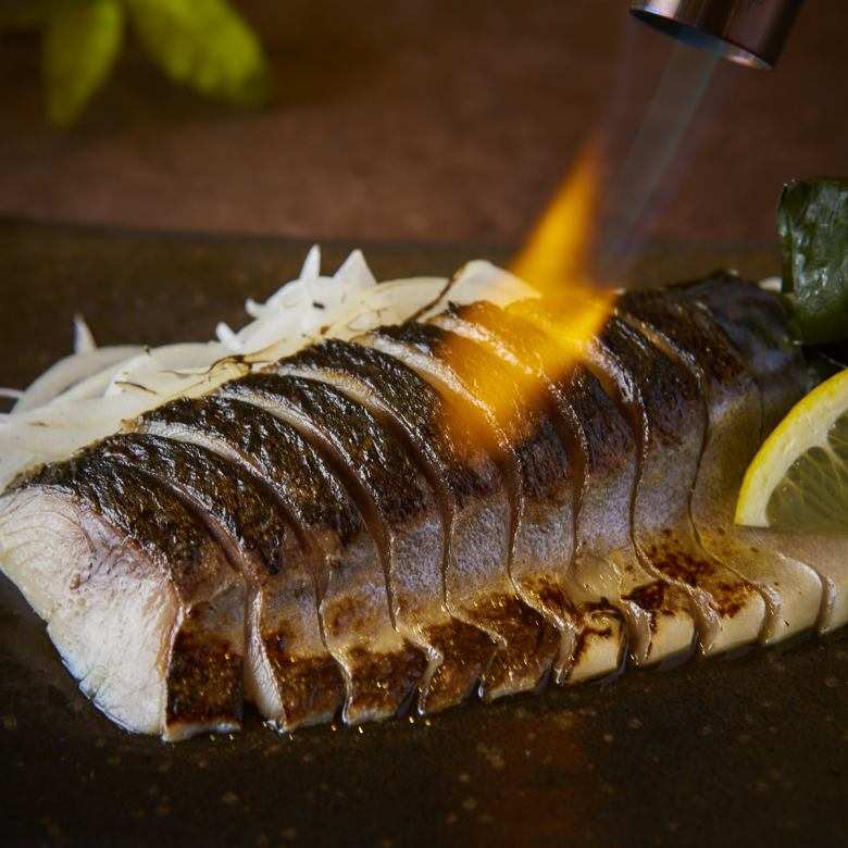 Broiled deadline mackerel