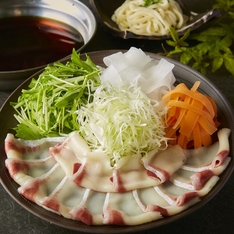 Shrimp shabu-shaba 1 servings