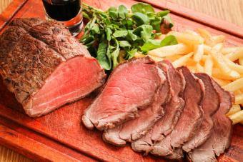 Smoked roast beef