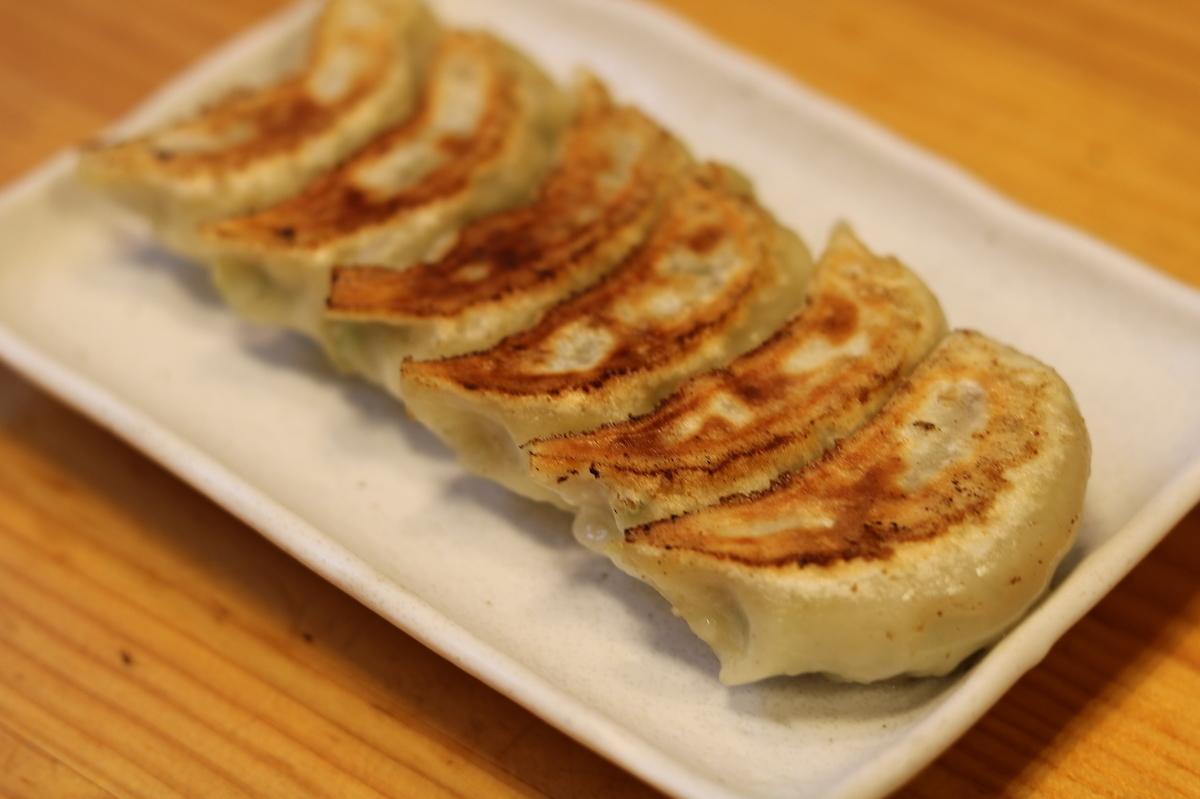 Homemade dumpling (garlic or shiso)