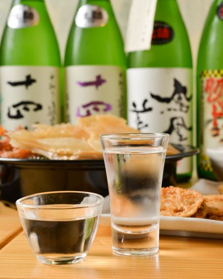 Finally born in Suidobashi, you can drink more than 50 kinds of sake selected carefully for 3500 yen!