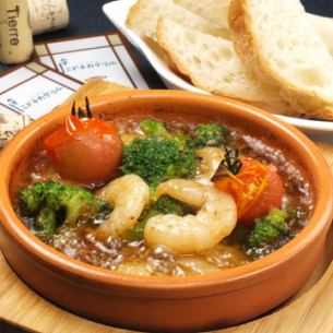 Shrimp and Broccoli's Achillo