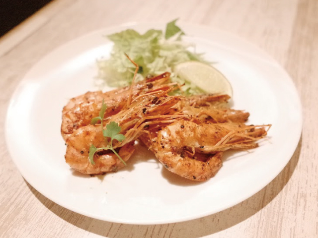 Garlic shrimp familiar in Hawaii