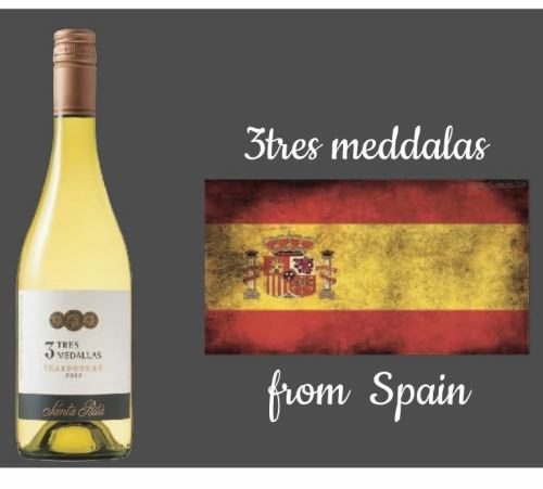 【スペイン】3TRES MEDALAS(白)