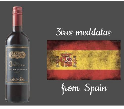 【スペイン】3TRES MEDALAS(赤)