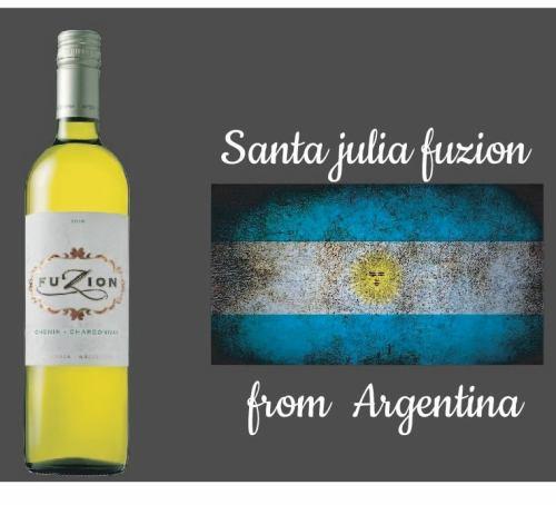 【アルゼンチン】Santa Julia FUZION(白)