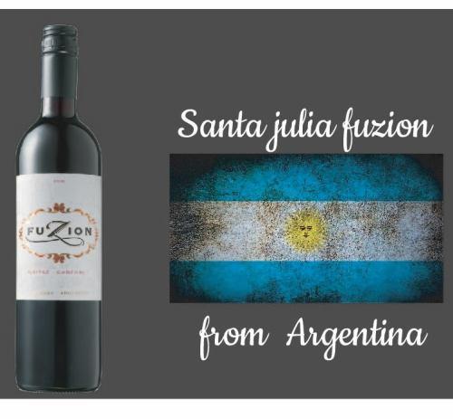 【アルゼンチン】Santa Julia FUZION(赤)