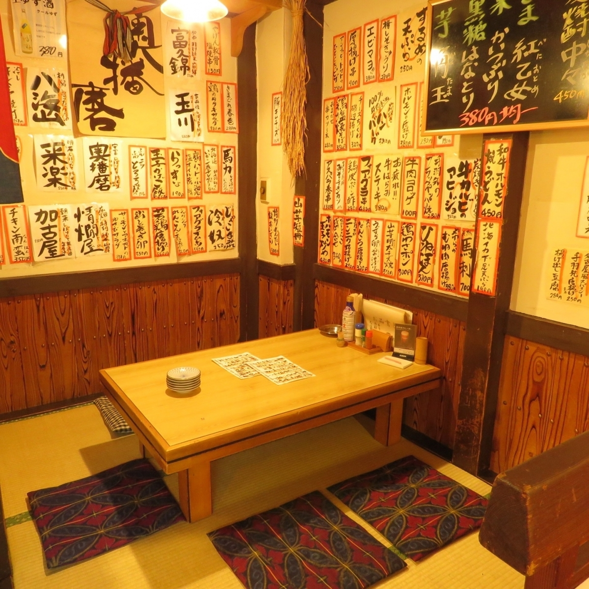 【Arashi 6 people x 1 desk】! If you connect the seat of [the seat of 8 people × 1 table], it can be up to 15 people!