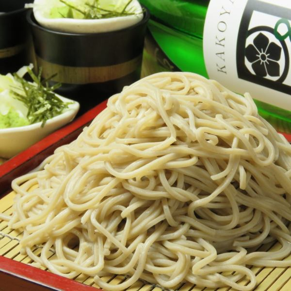 【Homemade noodle】 no soba noodles! 350 yen per serving ♪ Owner's buckwheat liking begins to rise Popular noodles soba!