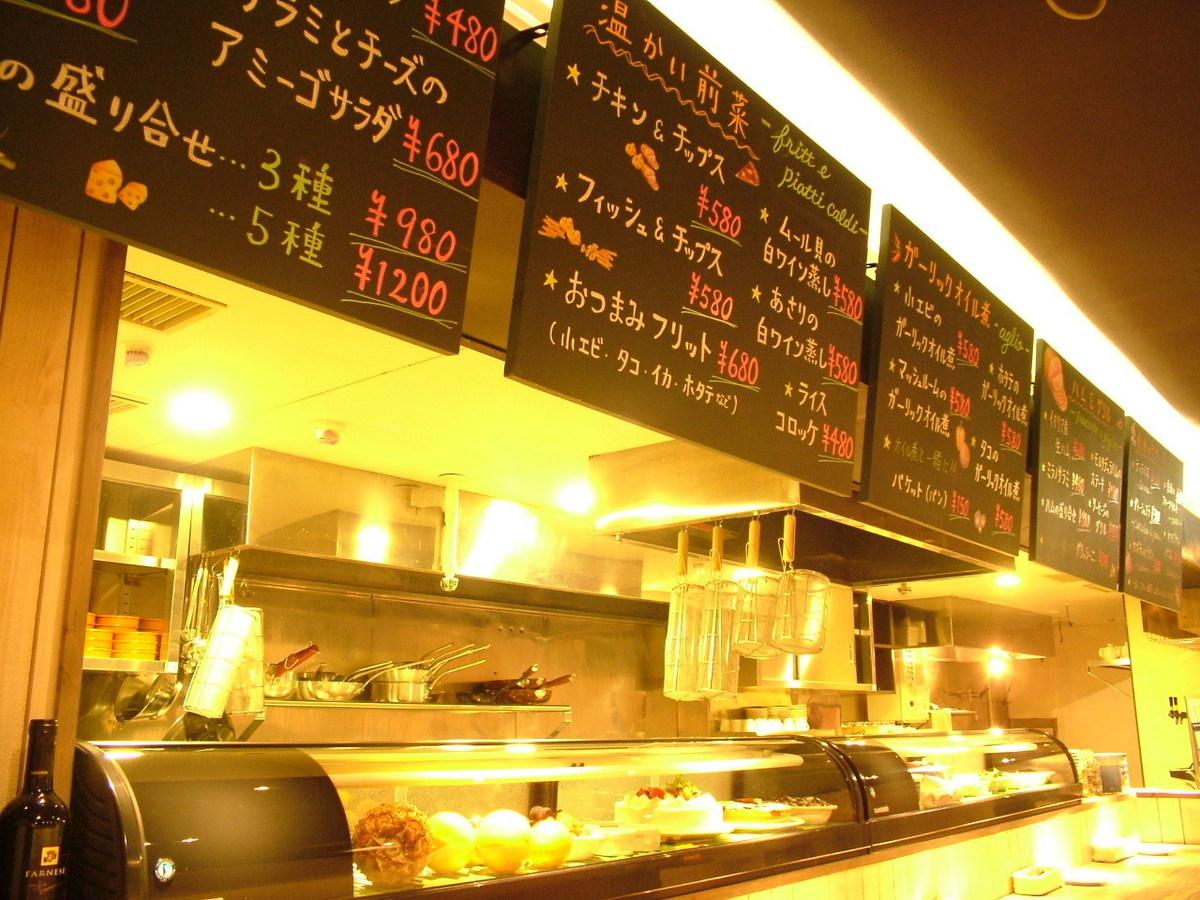 開放式廚房高櫃檯