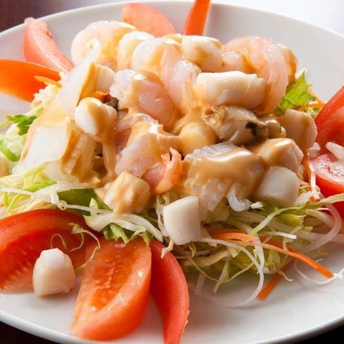 永福海鮮サラダ