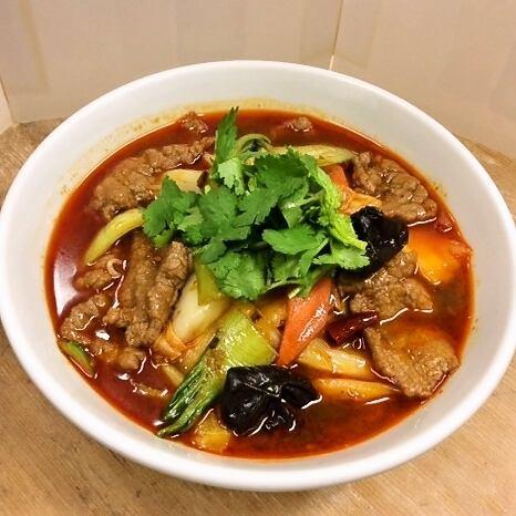 香味牛肉麺