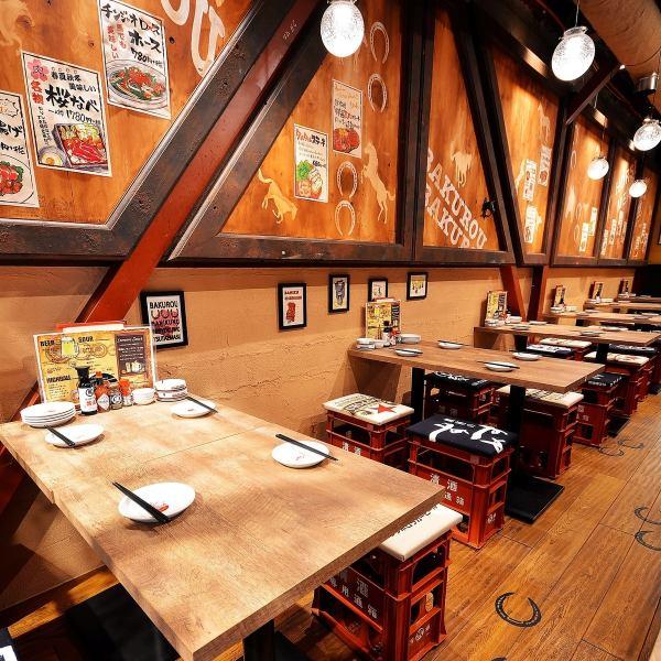 5/25岐阜站即将开业!名古屋最受欢迎的马肉酒吧在Tamadoni开业!不管年龄和年轻的女士,都可以光临的热门酒吧充满活力!您可以自由使用!