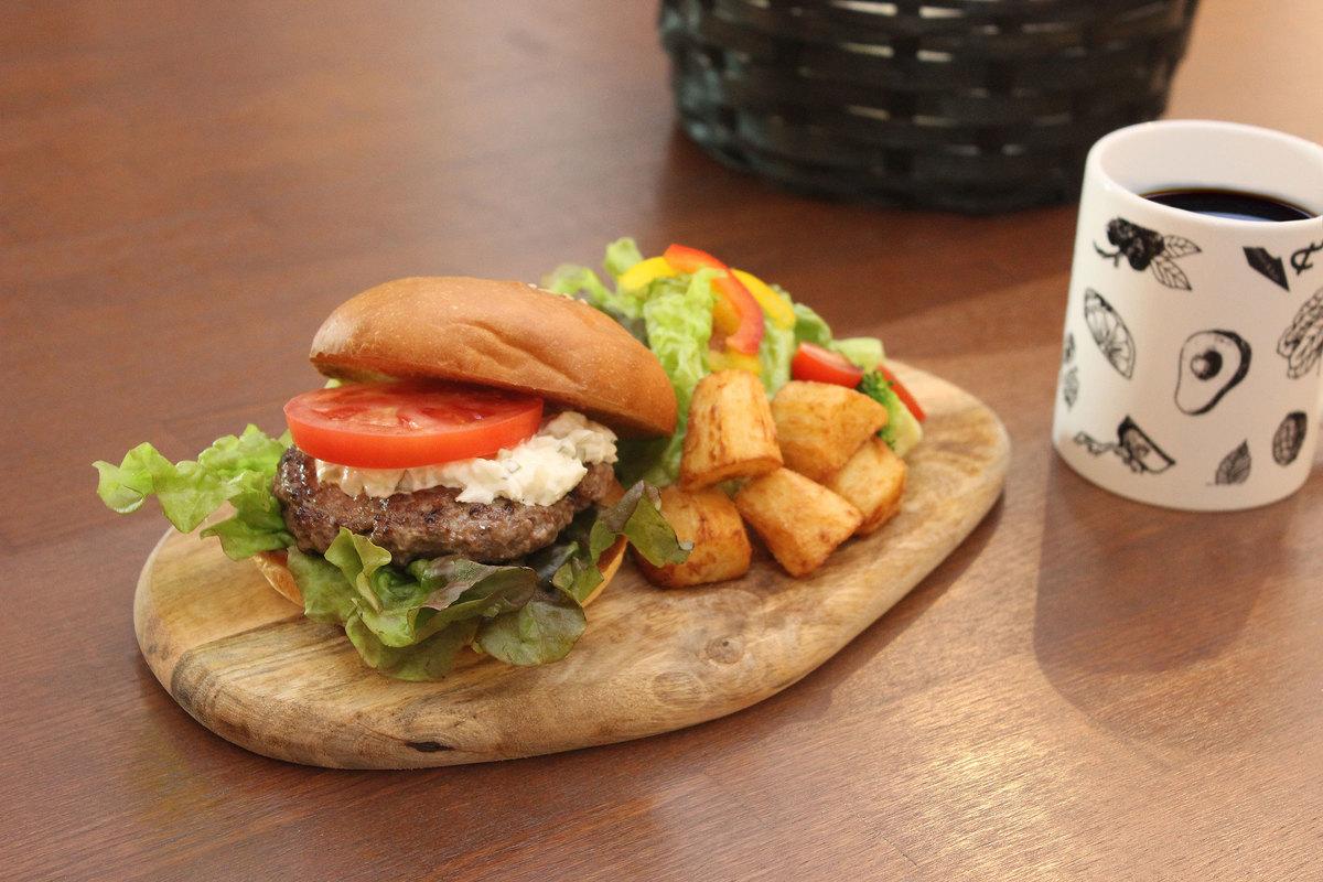 Limited! 100% beef hamburger