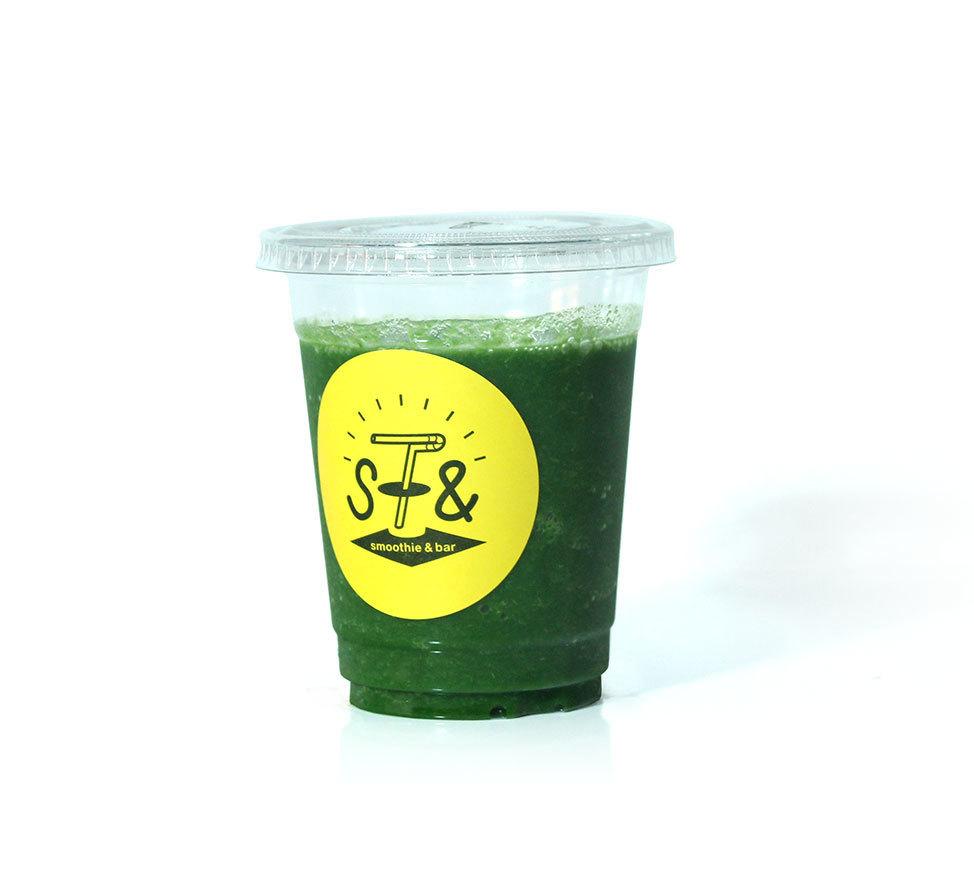 ☆羽衣甘藍和蘋果的綠色冰沙