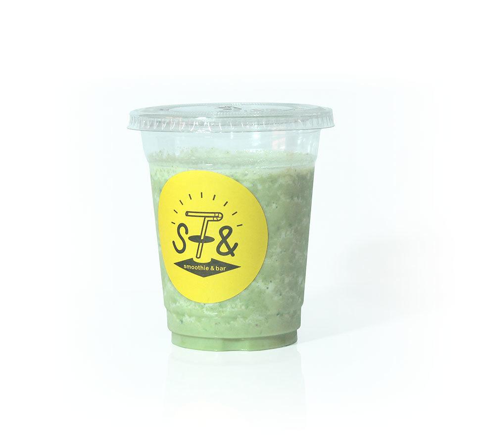 ☆ Green Smoothie of Komatsuna and Banana ☆